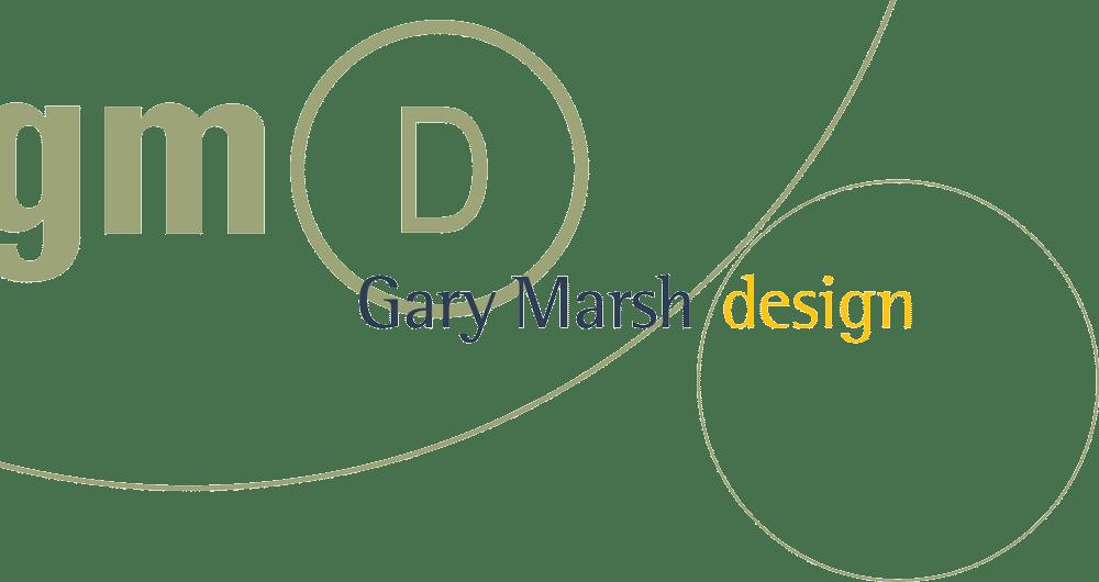 Gary Marsh Design Logo