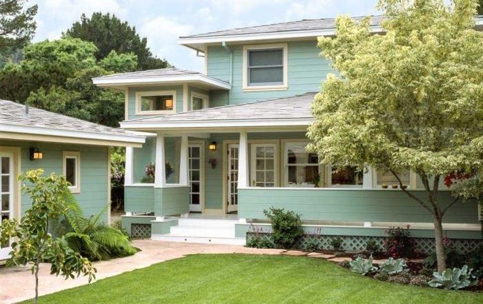 Backyard porch / Northern Marin County