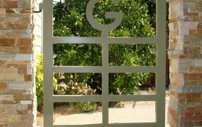 Garden gate / Marin County